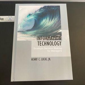 Information Technology by Henry Lucas, JR
